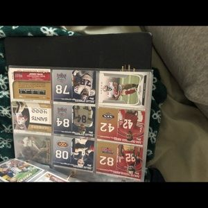 Accessories - Over 150 Football cards